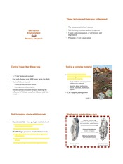 Soil Resources
