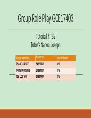Group Role Play GCE17403.pptx.pptx