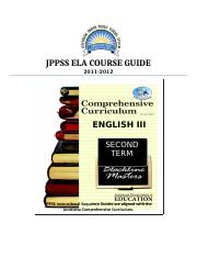 English III Sem II course guide