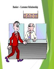 3. Banker – Customer Relationship.ppt