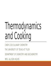 Module 10 Thermodynamics and Cooking.pptx