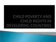 CHILD POVERTY ppt