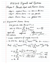 Fourier Series Lecture