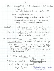 ELEC 466 Review of Energy Concepts Notes