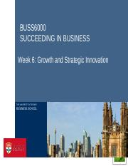 BUSS6000 WEEK6A_edit growths and strategic innovation.pptx