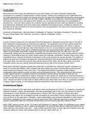 Faculty Rights Research Paper Starter - eNotes.pdf