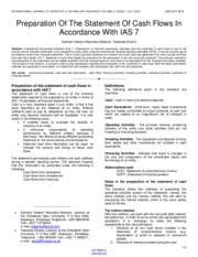 Preparation-Of-The-Statement-Of-Cash-Flows-In-Accordance-With-Ias-7