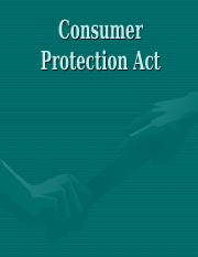 D Consumer Protection Act