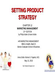 ch-12-settingproductstrategy-100515024742-phpapp01.ppt