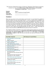 CCCH9031 Worksheet 3