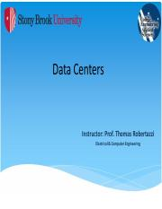 Data Centers - NOTES