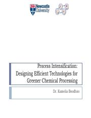 Process Intensification - Clean Technology.pdf