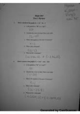 MATH 95 Test 3 Review part1