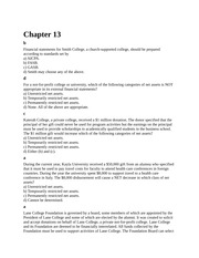 ACC 410 - Chapter 13 - Quiz