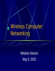 Wireless Computer Networking.ppt