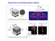 Lecture 7 - Super-lens and Super-prism effects