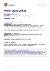 UoS_Outline_ACCT1006_SEM2_2013_approved