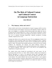 influence of culture to LS.pdf