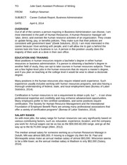 Kathryn Newman - Research Report Business Administration (Draft)
