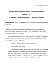 Rel 101 Content Outline (Buddhism 3)(1)-2
