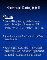52. WWII Homefront.ppt