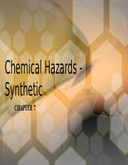FST 325 Food Safety - L.8 Synthetic Chemicals (1).pptx
