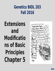 Lecture #5 & 6 Fall 2016- Chapter 5- Mendel Extensions (1).pptx