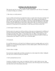 COMS 397 What to do AFTER An Interview Notes