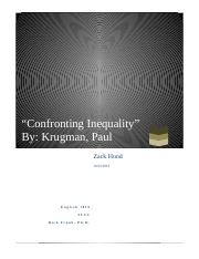 Confronting Inequality Final