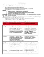 Human Resource Development 5315 Study Guide-Exam 1.docx