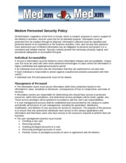 IT - Hiippa - Personnell Security Policy
