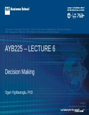 AYB225 Lecture 06 Sem 1 2017