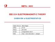 EEE224_Fall10_Electrostatics