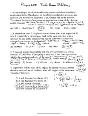 CU 2008 fa final exam key