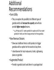Additional Recommendations