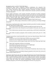 Resi Pertanyaan Dan Jawaban Pertemuan 2 Docx Nama Resi Intan Penatari Nim S431808011 Makul Akuntansi Forensik Audit Investigasi Atribut Dan Kode Etik Course Hero