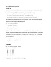 Solutions Assign 2