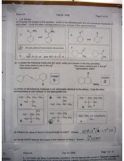 Chem 3A Midterm 1 Answers Key