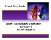 CHEM 1150 S15 Exam 4 Study Guide(2)