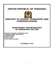 Investment-Opportunities-in-transport-sector-Tanzania.DOC