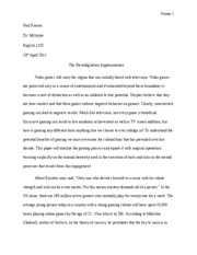 semester paper prestidigitation approximation final draft