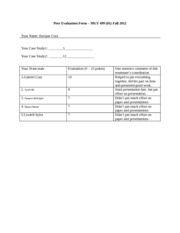 Peer Evaluation Form-MGT499%2801%29-Fall 2012 (1)