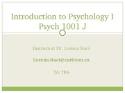 Lecture 1 _Psych 1001J_Sept 9_Cu Learn