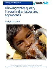 drinking water quality rural india.pdf
