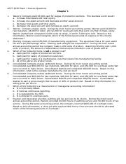 ACCT 2220 Exam 1 Review Questions (1)