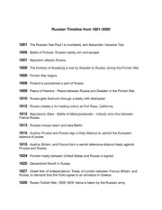 Chapter25-RussianTimeline