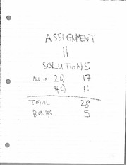Assignment11Solutions