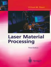 Laser Material Processing 3rd edition