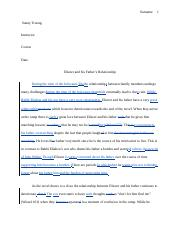 Eliezer and his Father's Relationship-edited-remarks.doc