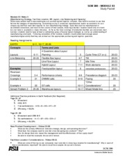 M3 Study Guide SP2010
